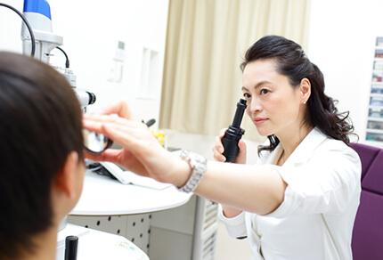 女性医師による丁寧な診療